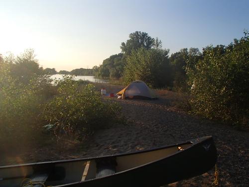 randonnÃe en canoe