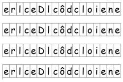 MS/ Découverte du principe alphabétique