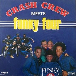 The Cash Crew / Funky Four - Cash Crew Meets Funky Four - Complete LP