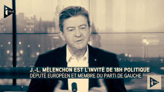 """Jean-Luc Mélenchon: """"Il faut repenser notre rapport au politique"""""""