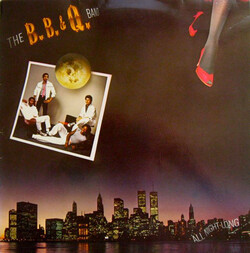 The B.B.& Q. Band - All Night Long - Complete LP