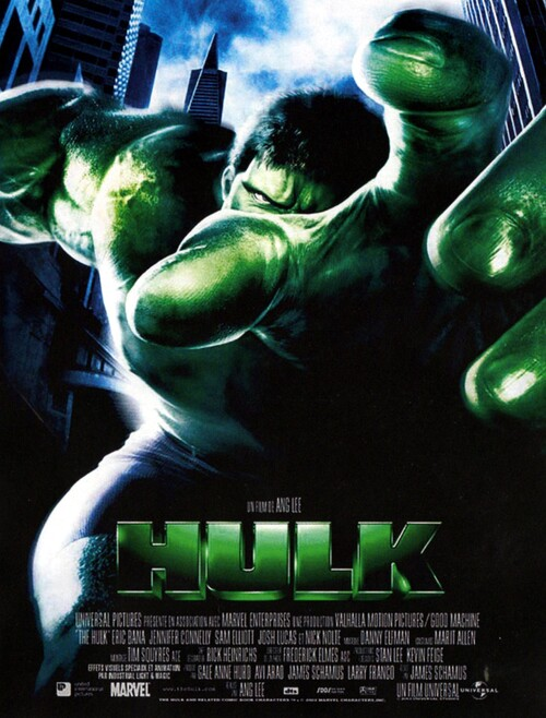 HULK BOX OFFICE FRANCE 2003