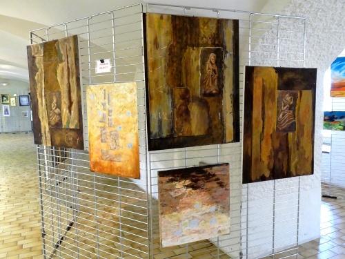 Souvenirs du  troisième Salon des Peintres des Amis du Châtillonnais, mai 2012...