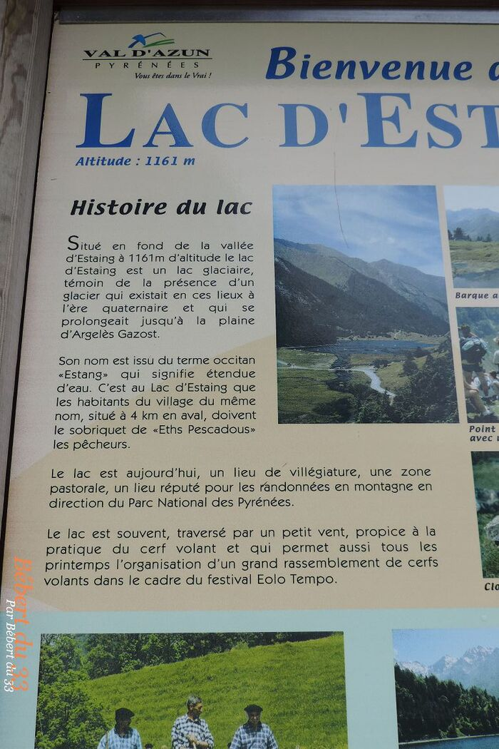 le lac d'Estaing dept 65