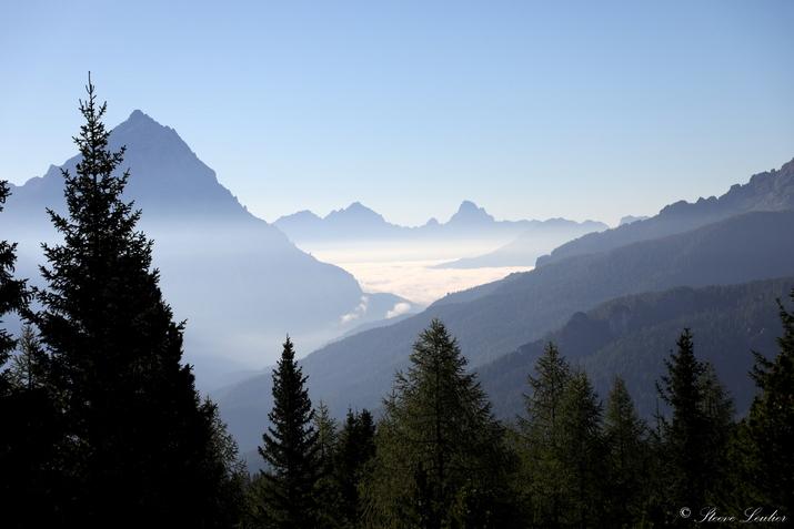 Trek dans les Dolomites, refuge Dibona