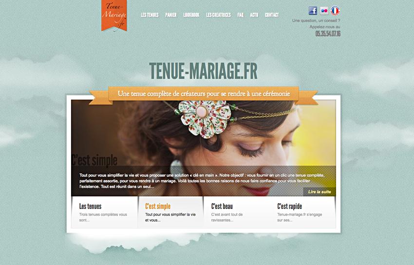 La collection Tenue-mariage.fr est en ligne!