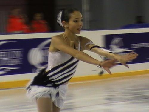 Du patinage de haut niveau à Dammarie Les Lys.