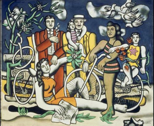 """Les """"congés payés"""" à travers la toile """"les loisirs"""" de Fernand Léger"""