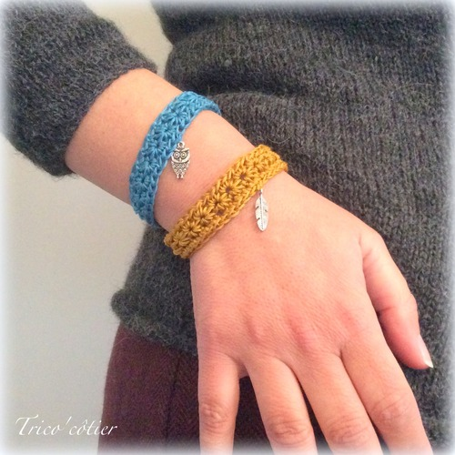 Duo de bracelets étoilés !