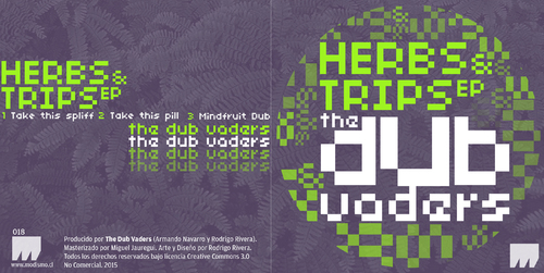 The Dub Vaders - Herbs & Trips (2015) [Electro Dub , Electronic , Psychedelic]