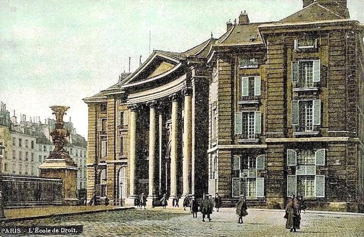 L'École de Droit, renommée Faculté, place du Panthéon (c. 1900)