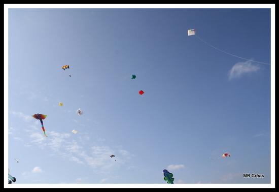 Cerfs volants à Martigues