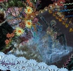 fibres angelina, fibres de soie