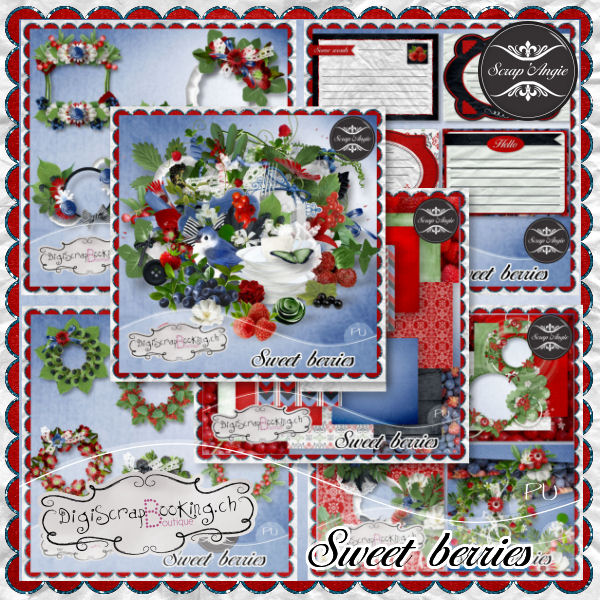 Sweet berries de scrap'Angie