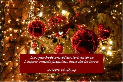 Petits Poèmes et Citations de Noël, en attendant ce grand jour de Fête...