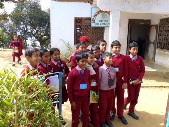 visite d'une école de campagne