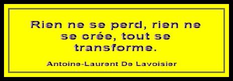 Citation de Lavoisier