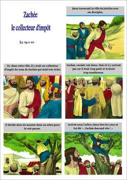 jesus rencontre zachee