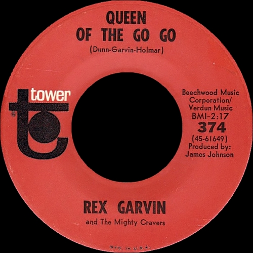 "Rex Garvin & The Mighty Cravers : Album "" Raw Funky Earth "" Tower Records ST-5130 [ US ]"