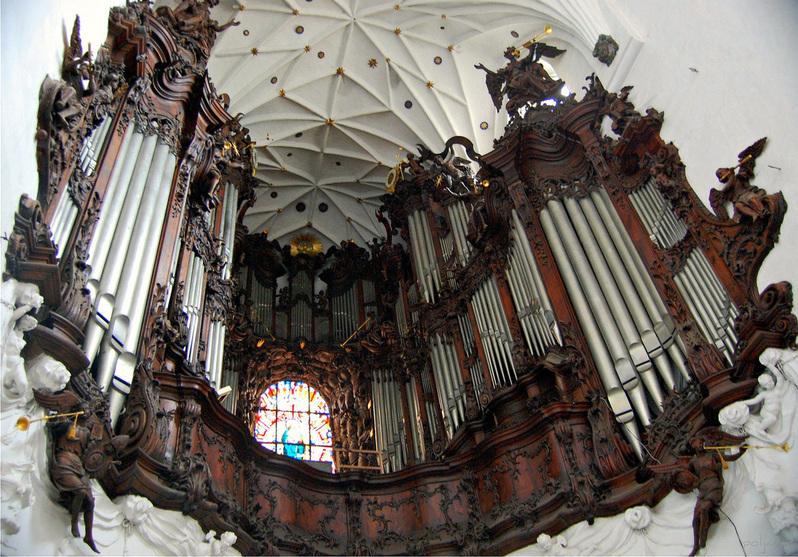 Gdansk Katedra Oliwa grand-orgue Wulff