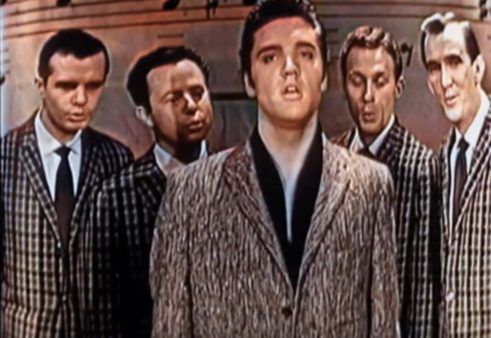 Elvis Presley 'Peace in the valley' live colour and stereo