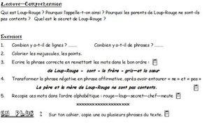 Grammaire Picot - textes, transpositions, exercices