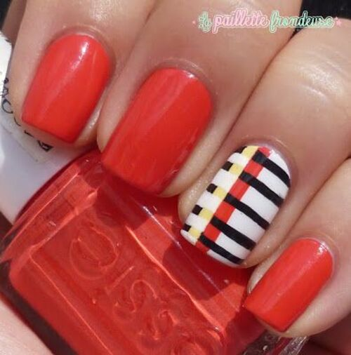 ∗ Nail Art : Belles aux couleurs Belges