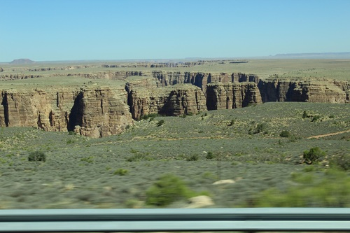 On quitte le Grand Canyon