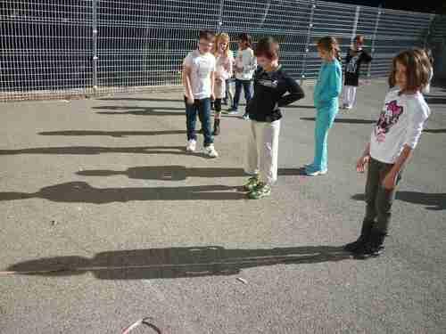 Notre expérience sur les ombres