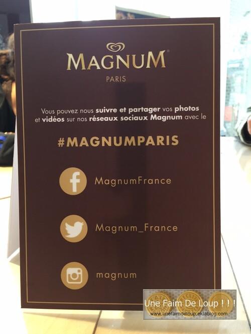 Bar à glace Magnum - Paris