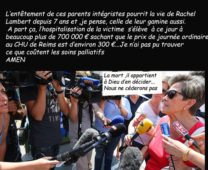 Affaire Vincent Lambert/ Religion/euthanasie