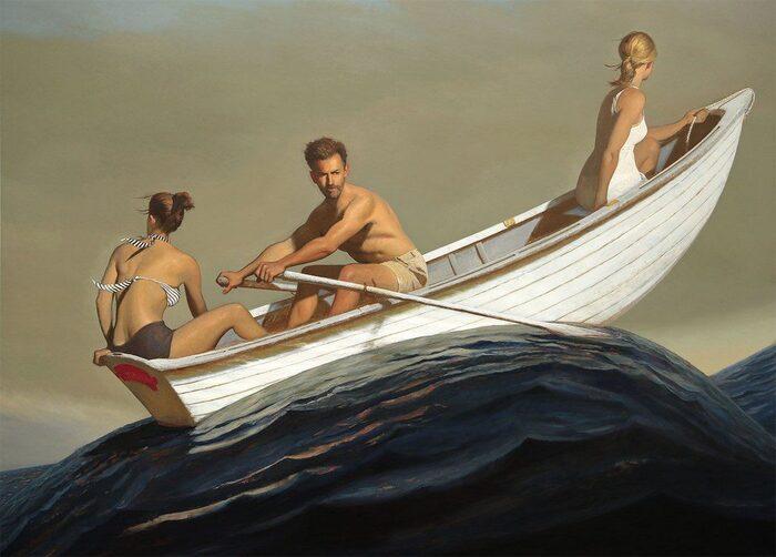 Les Peintures mythiques de Bo Bartlett