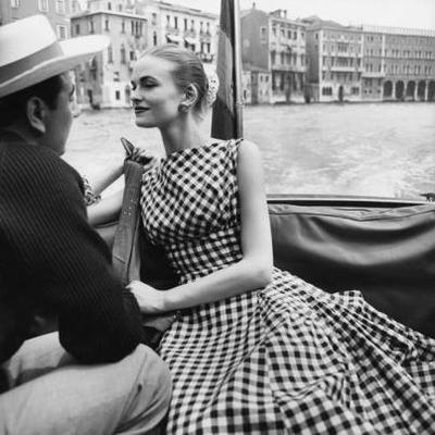 02 - A pois, rayures, carreaux…dans la mode, années 60