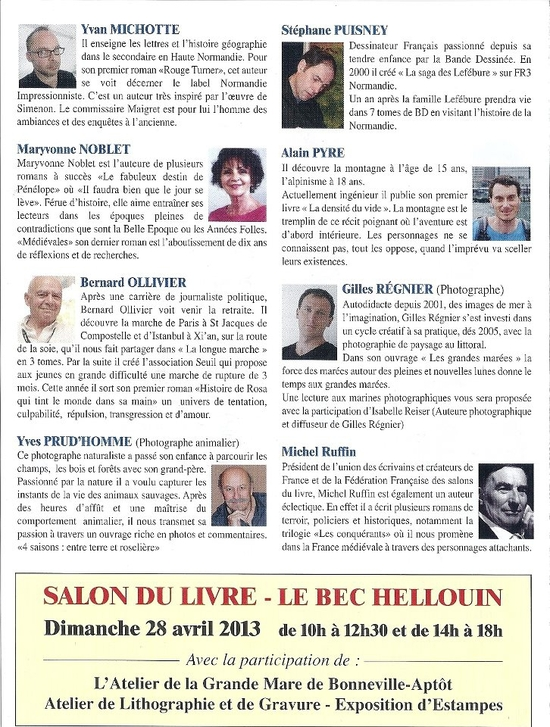 Programme bec hellouin 1