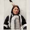 Iron Elk (Hehaka Maza)Oglala Lakota. Photo by D. L. Lancey 1907. Colorized By Grover.