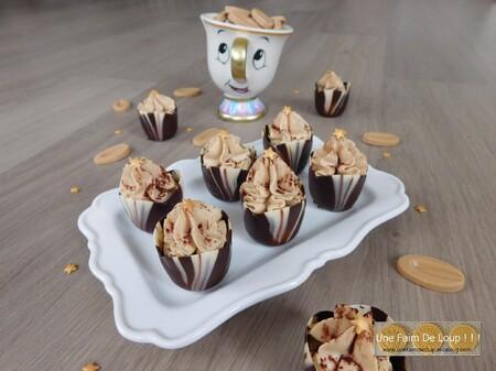 Oeufs en chocolat et mousse au chocolat Dulcey