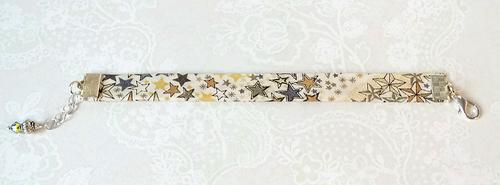 - Bracelets biais tissu liberty authentique, modèles simples