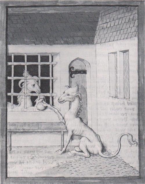 Le loup et les sept chevreaux (J. et W. Grimm)