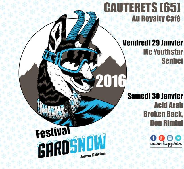 Festival Garosnow Cauterets 2016