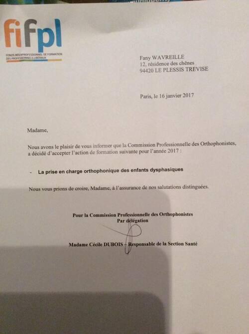 Agrément FIF-PL 2017