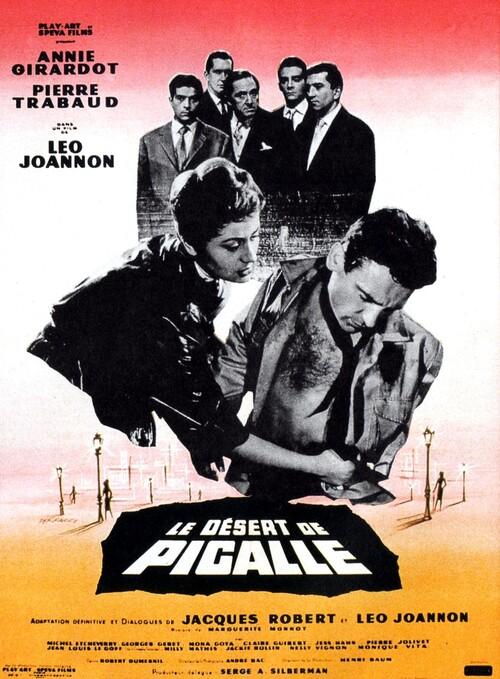 LE DESERT DE PIGALLE - BOX OFFICE ANNIE GIRARDOT 1958