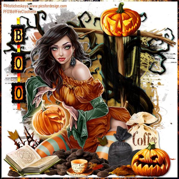 Halloween's coffee