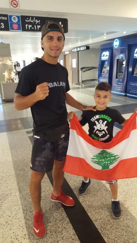 Un surdoué de la boxe Thaï au Liban.