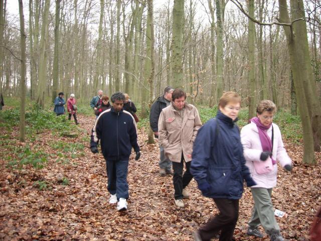 La traditionnelle promenade du premier dimanche de janvier
