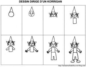 dessin dirigé korrigan0011