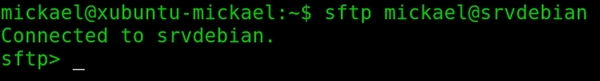 Utiliser la commande SFTP