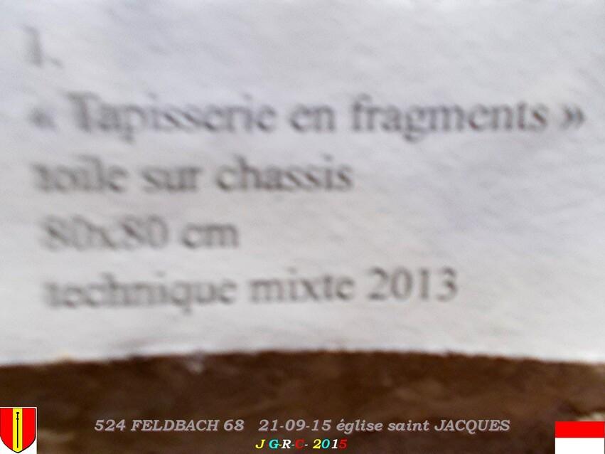 21/09/2015   EGLISE SAINT JACQUES  FELDBACH  68  4/4   D 18/02/2016