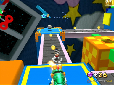 Super Mario Galaxy - Screenshot soluce