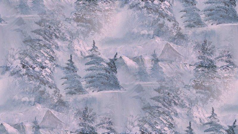 Encadrement  neige