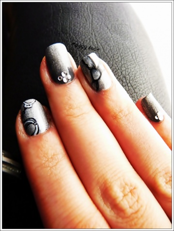 Sunday Nail battle - Cinquante nuances de Grey